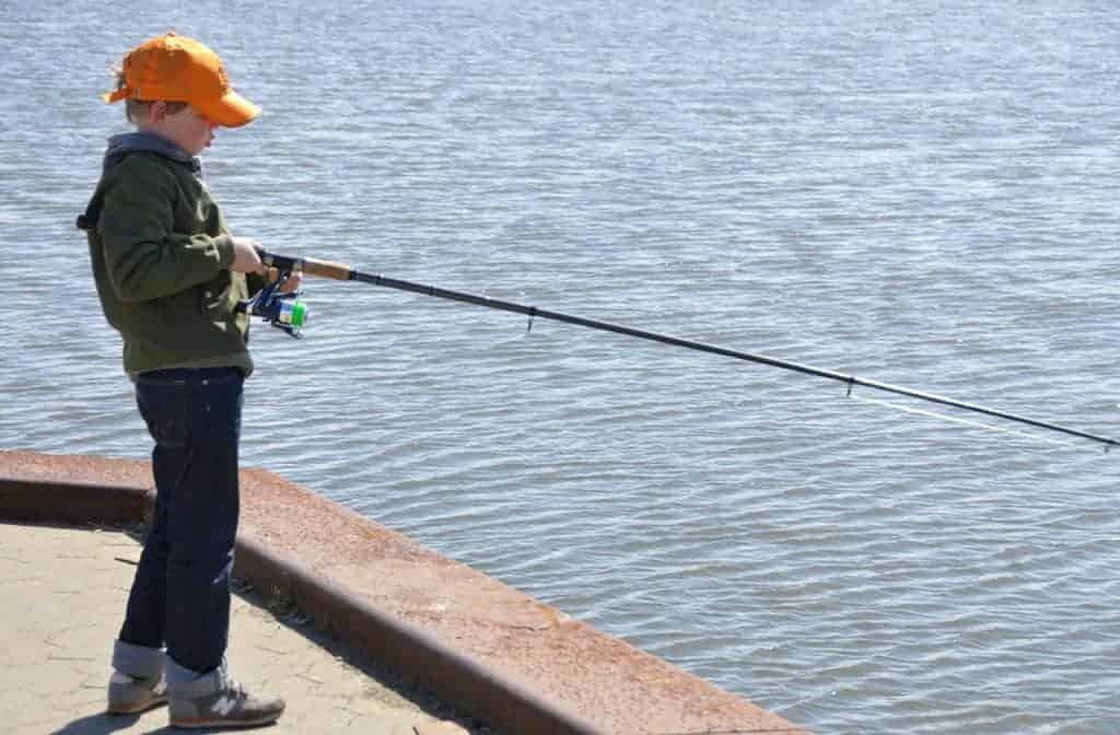 børne fiskeri