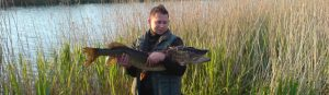 Geddefiskeri fangst