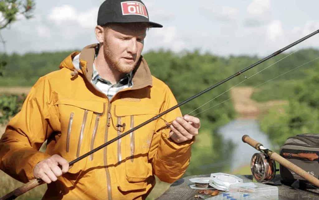 Video omkring lakse fiskeri