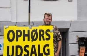fiskegrej ophørsudsalg - foto: Ole Bjærge - Viborg Folkeblad