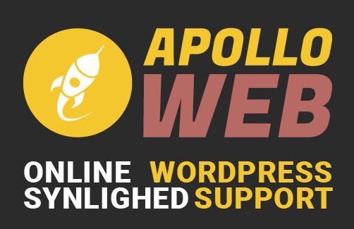 Apollo Web WordPress Support