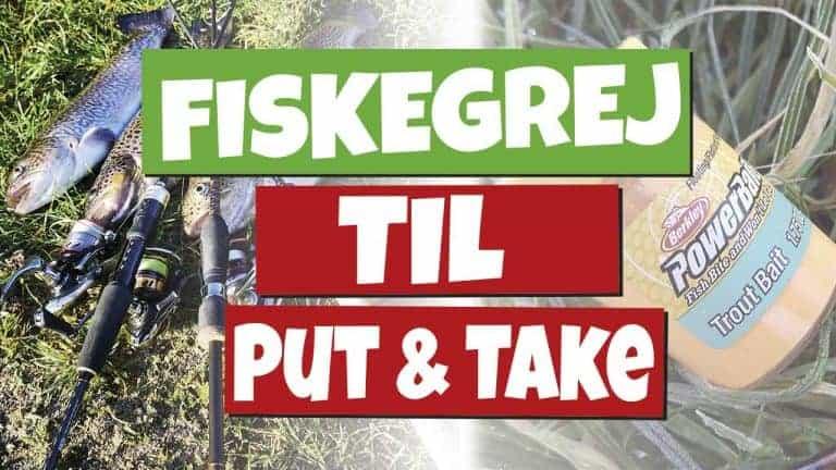 fiskegrej til put and take