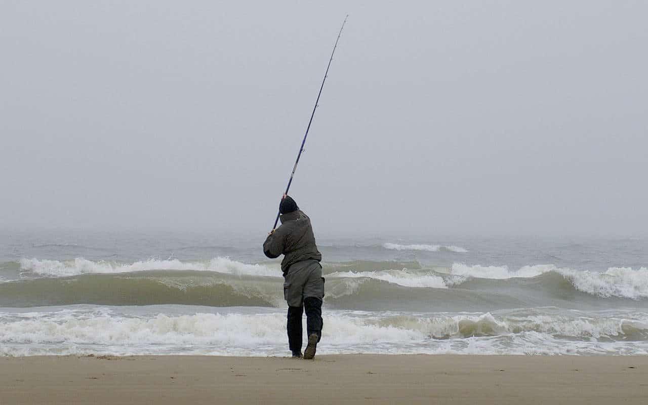 surfcasting fladfiskeri