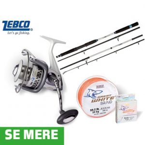 Zebco Great White Combo
